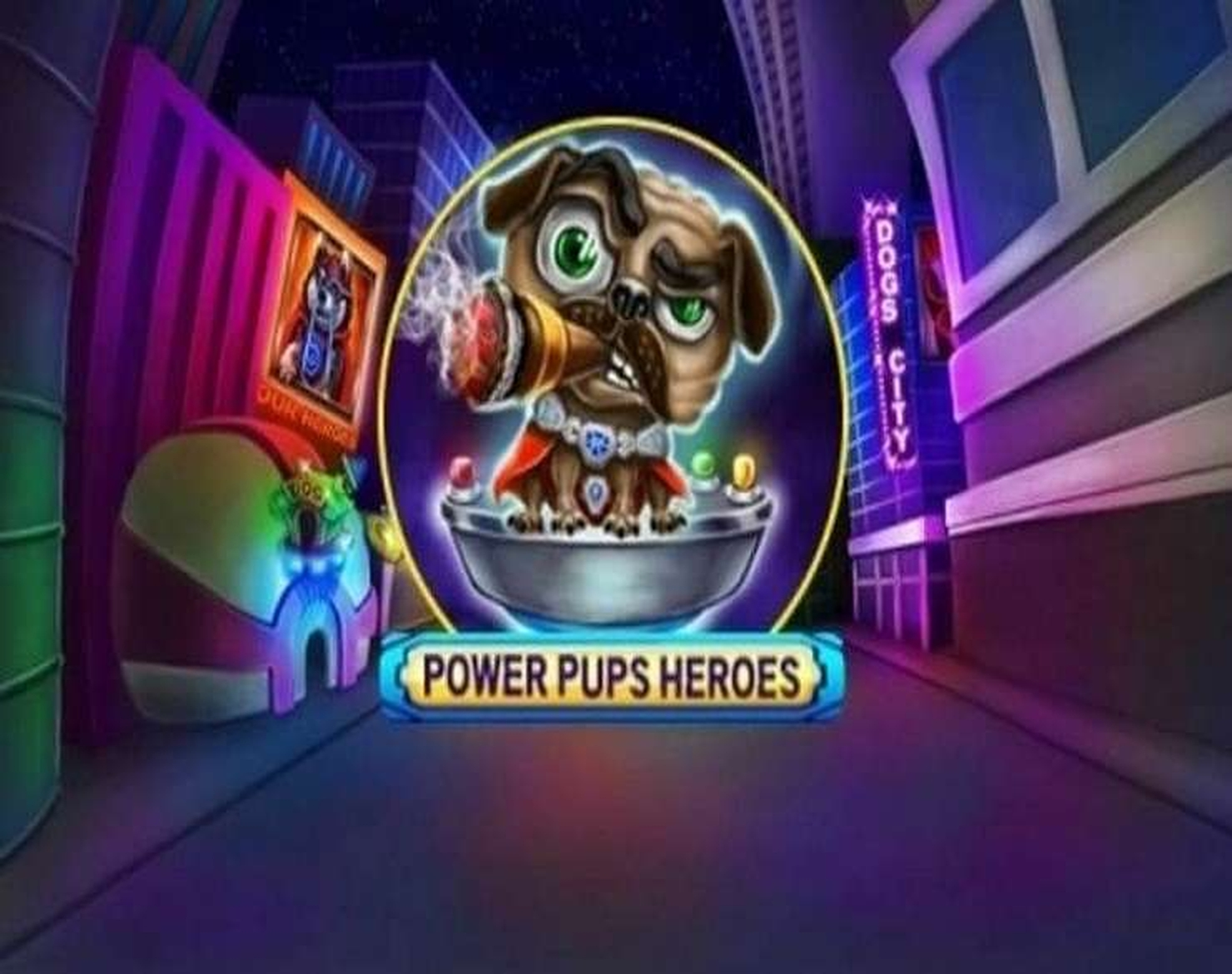 The Power Pups Heroes Online Slot Demo Game by Spinomenal