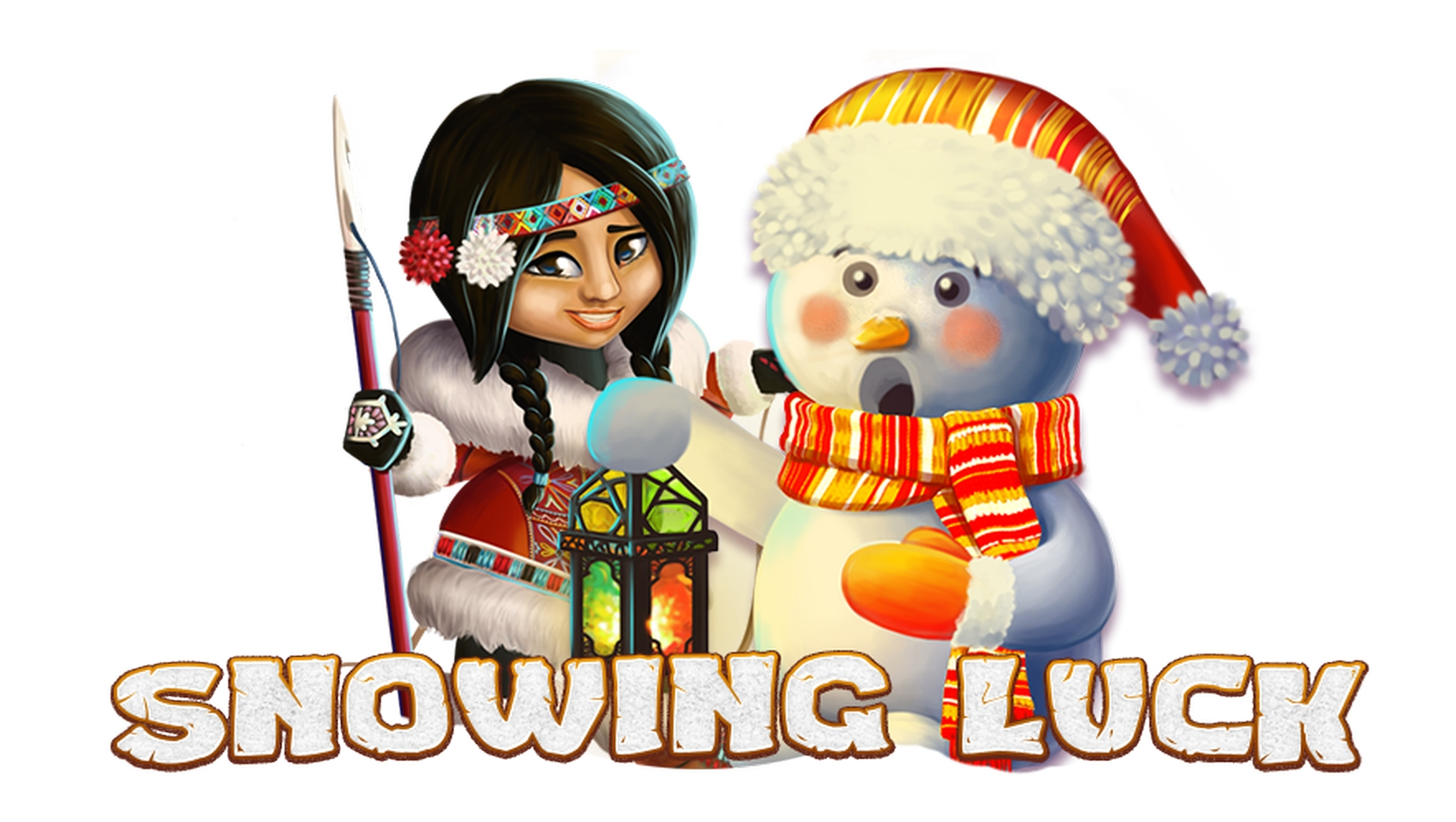 Win Money in Snowing Luck Christmas Edition Free Slot Game by Spinomenal