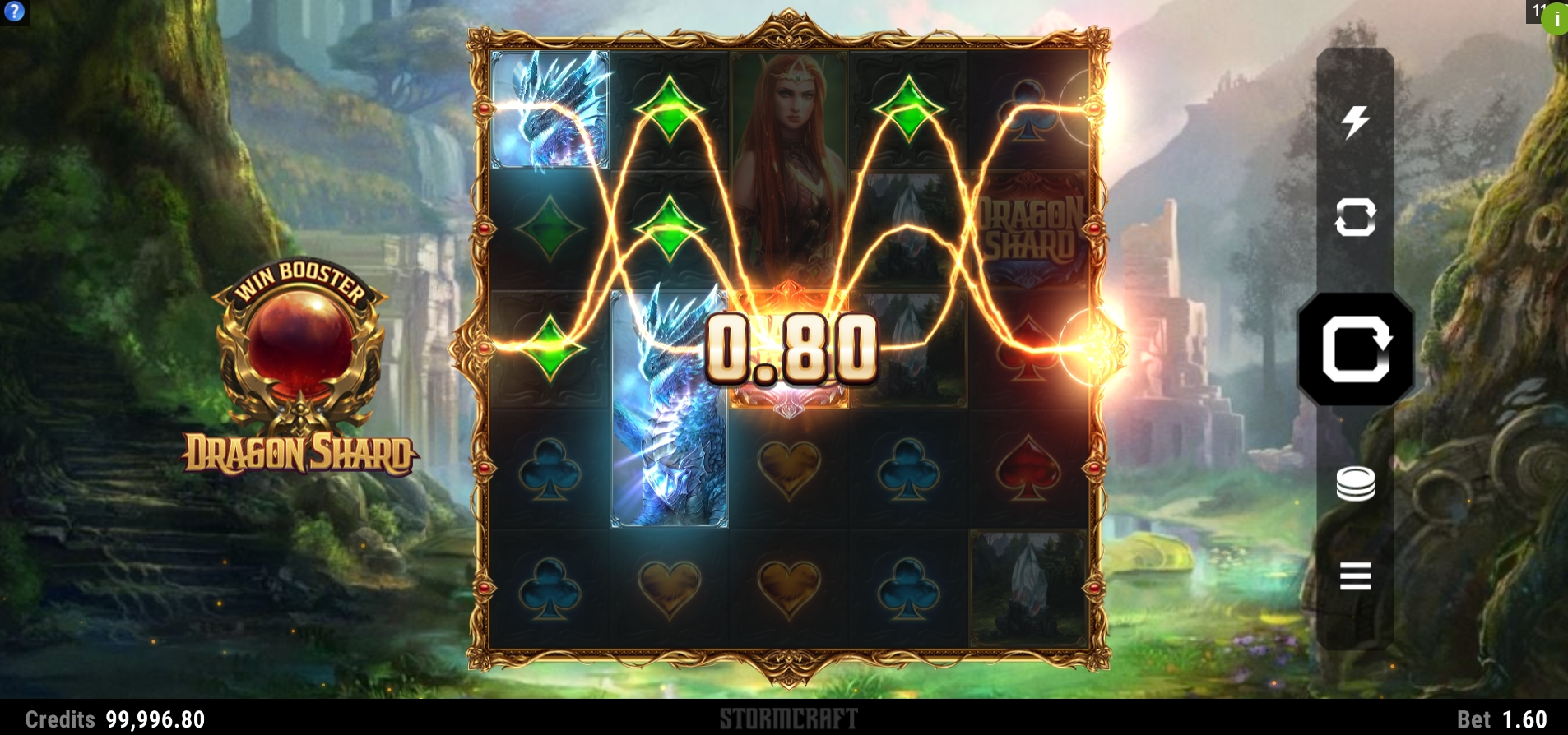 Win Money in Dragon Shard Free Slot Game by Stormcraft Studios