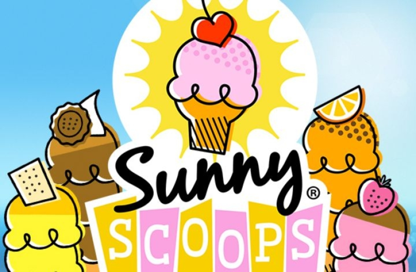 The Sunny Scoops Online Slot Demo Game by Thunderkick