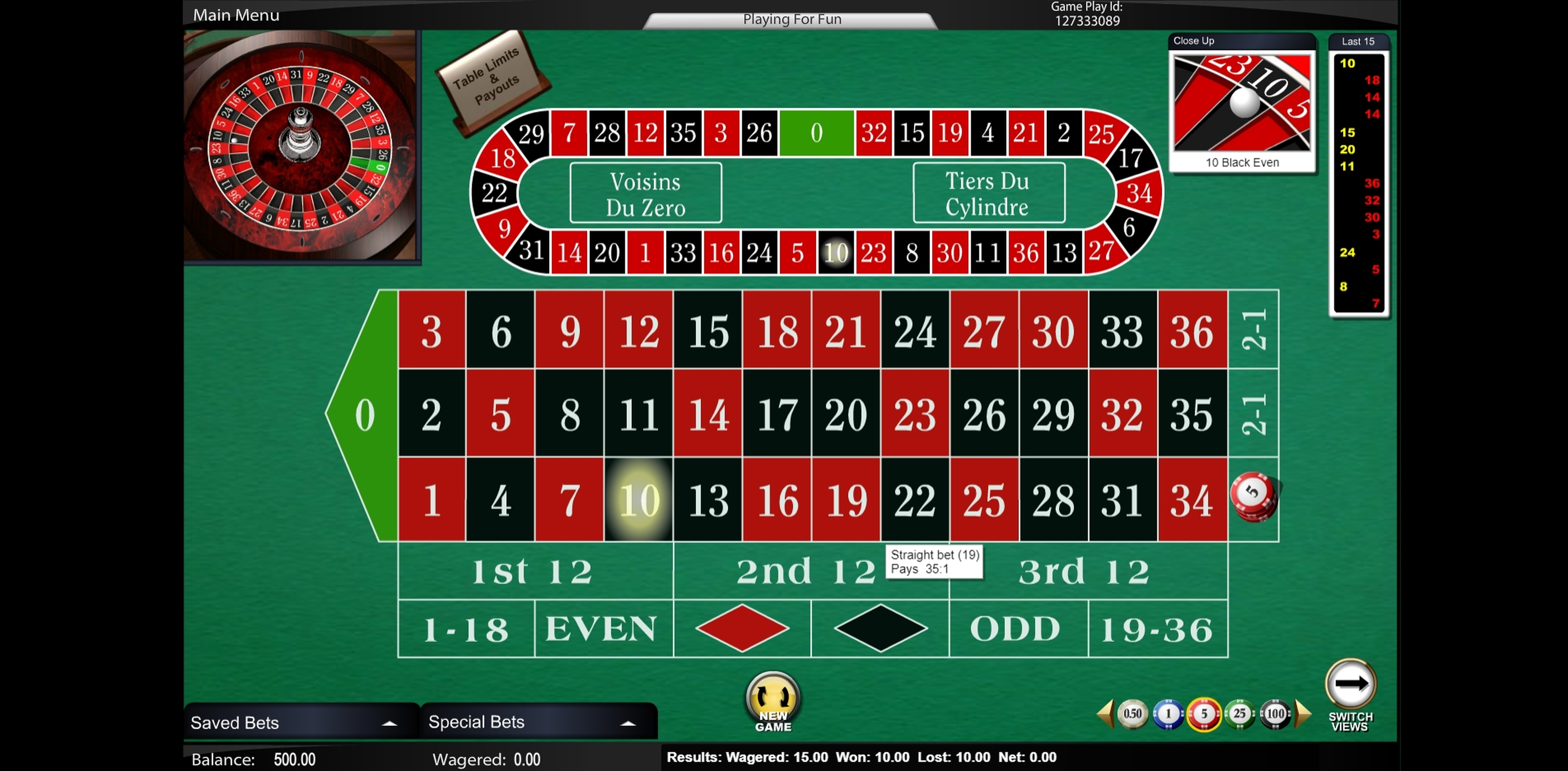 Win Money in European Roulette (Top Trend Gaming) Free Slot Game by Top Trend Gaming