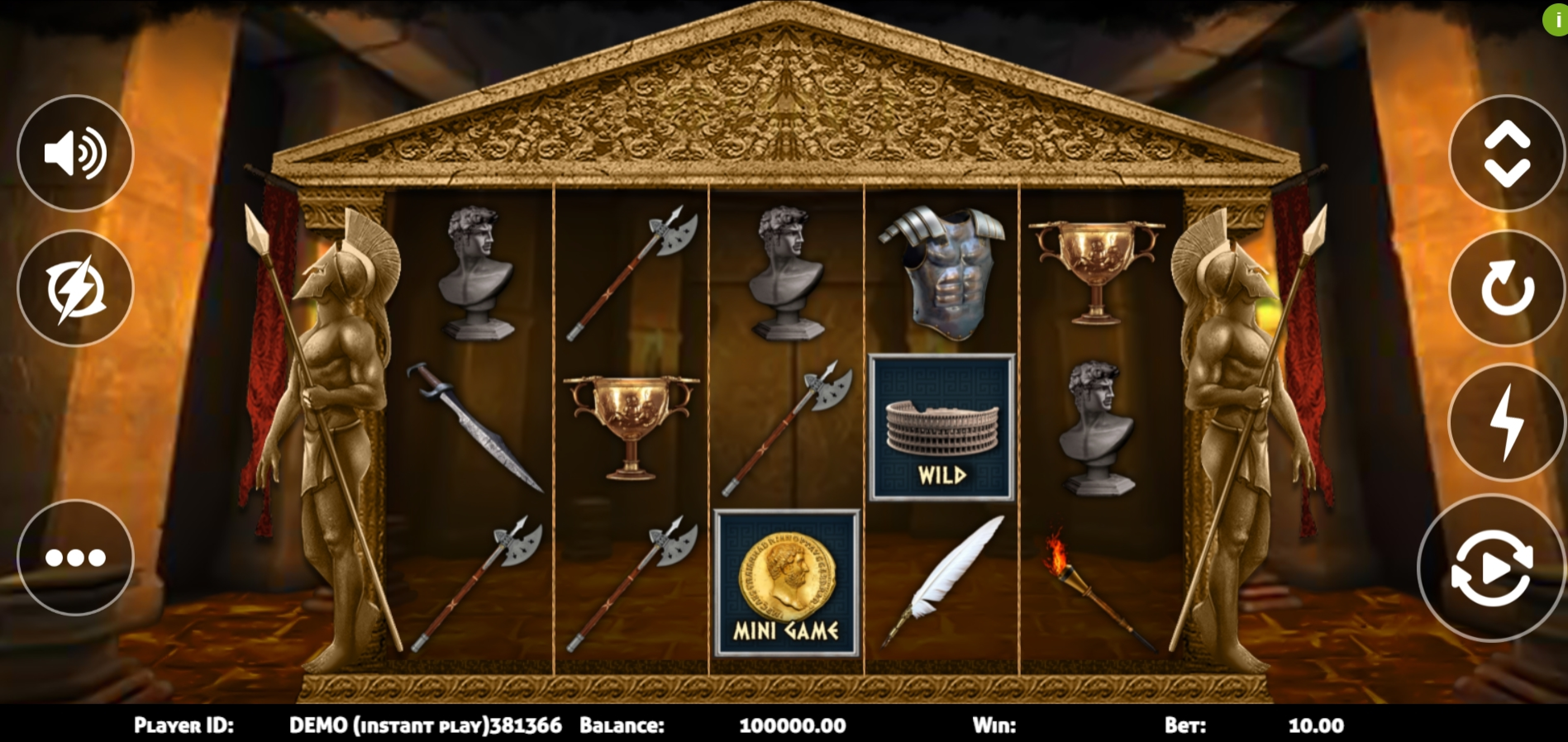 Reels in Rome Warrior (Triple Profits Games) Slot Game by Triple PG
