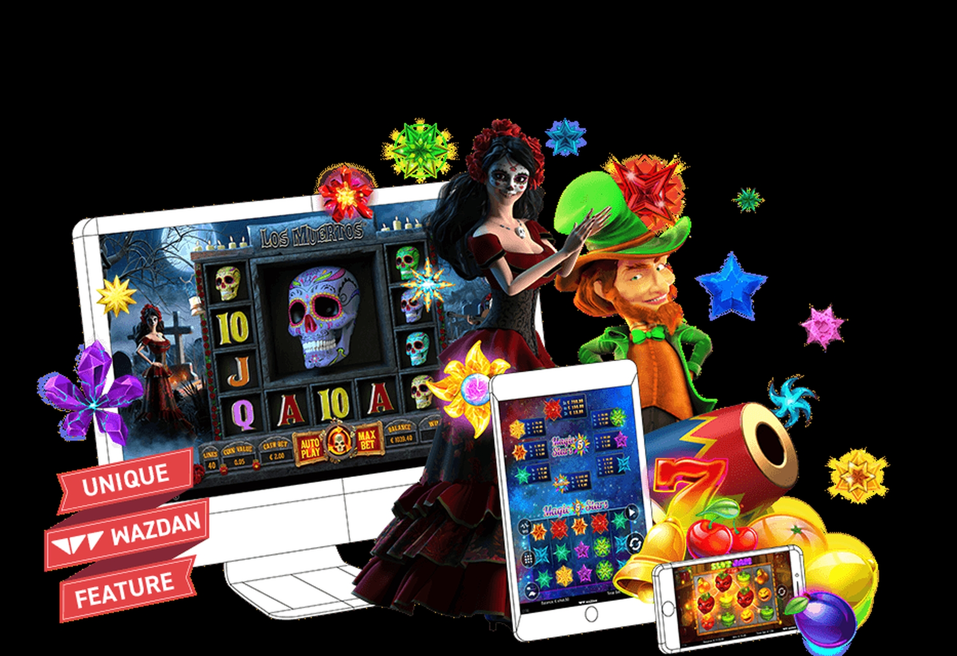 The Arcade Online Slot Demo Game by Wazdan