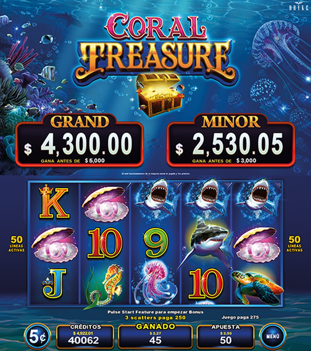 The Coral Treasure Online Slot Demo Game by Zitro
