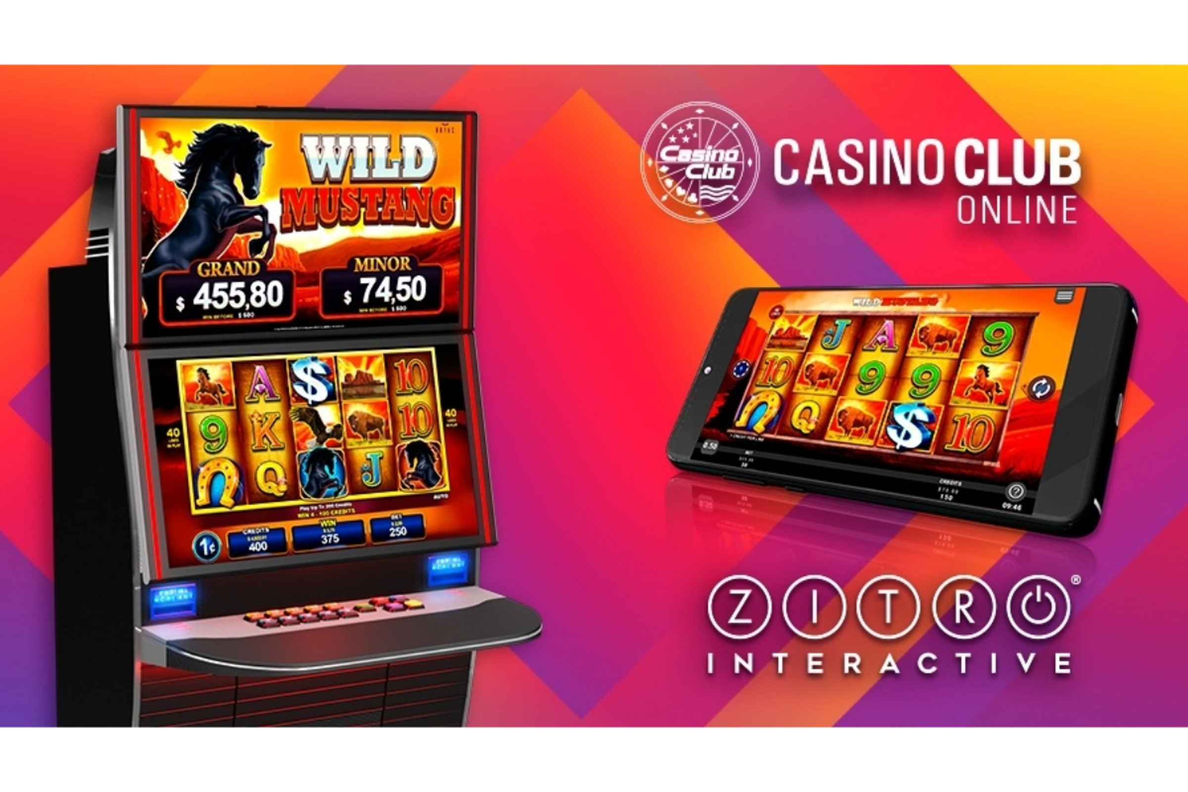 The Wild Mustang Online Slot Demo Game by Zitro